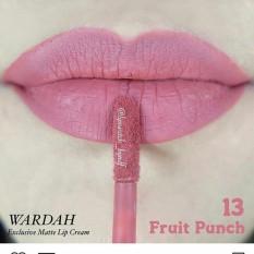 Harga Wardah Exclusive Matte Lip Cream 13 Fruit Punch Yang Murah