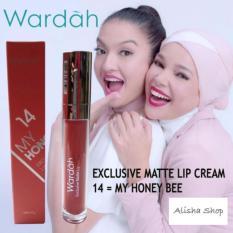 Wardah Exclusive Matte Lip Cream 14 My Honeey Bee Murah