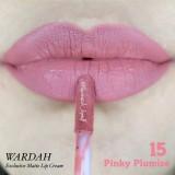 Jual Wardah Exclusive Matte Lip Cream 15 Pink Plumise Satu Set