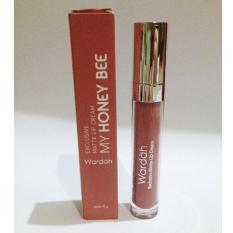 Wardah Exclusive Matte Lip Cream No 14 Honey Bee New Original