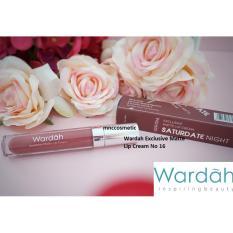 Wardah Exclusive Matte Lip Cream No.18 Saturdate Night