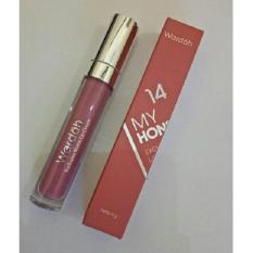 Wardah Exclusive Matte Lip Cream Original Colour No 14 My Honey Bee Indonesia Diskon 50