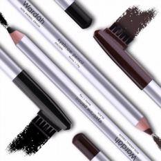 Wardah Eyebrow Pencil - Pensil Alis Sikat - Coklat 1Pc