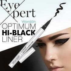 Wardah Eyeexpert Optimum Hi Black Liner Eyeliner Spidol Pen Hitam Wardah Diskon 50