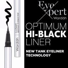 Spek Wardah Eyeliner Hi Optimum Liner Black Spidol Wardah