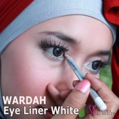 Wardah EyeLiner Pencil White - Eye Liner White