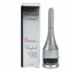 Wardah EyeXpert Staylast GEL EyeLiner - Eye Liner Gel