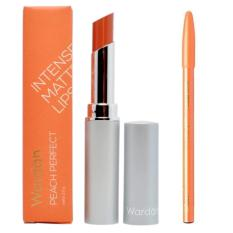 Top 10 Wardah Intense Matte Lipstick 03 Peach Perfect Free Davis Pensil Alis Hitam Online