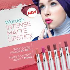 Harga Wardah Intense Matte Lipstick 08 Retro Red Seken