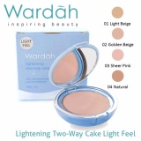 Harga Wardah Light Feel Lightening Two Way Cake Bedak No 03 12 Gr Wardah