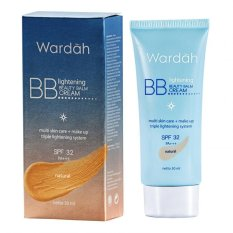 Harga Wardah Light Bb Cream Natural 30Ml Merk Wardah