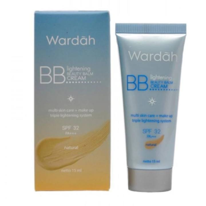 Wardah Lightening BB Cream SPF 32 Natural - 15ml | Lazada