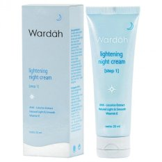 Wardah Lightening Night Cream Step 1 20ml