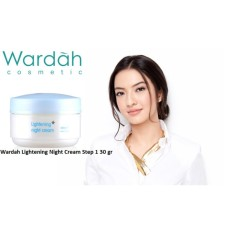 Wardah Lightening Night Cream Step 1 30 gr - Paket 2 pcs