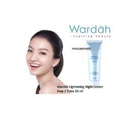 Wardah Lightening Night Cream Step 2 Tube 20 ml