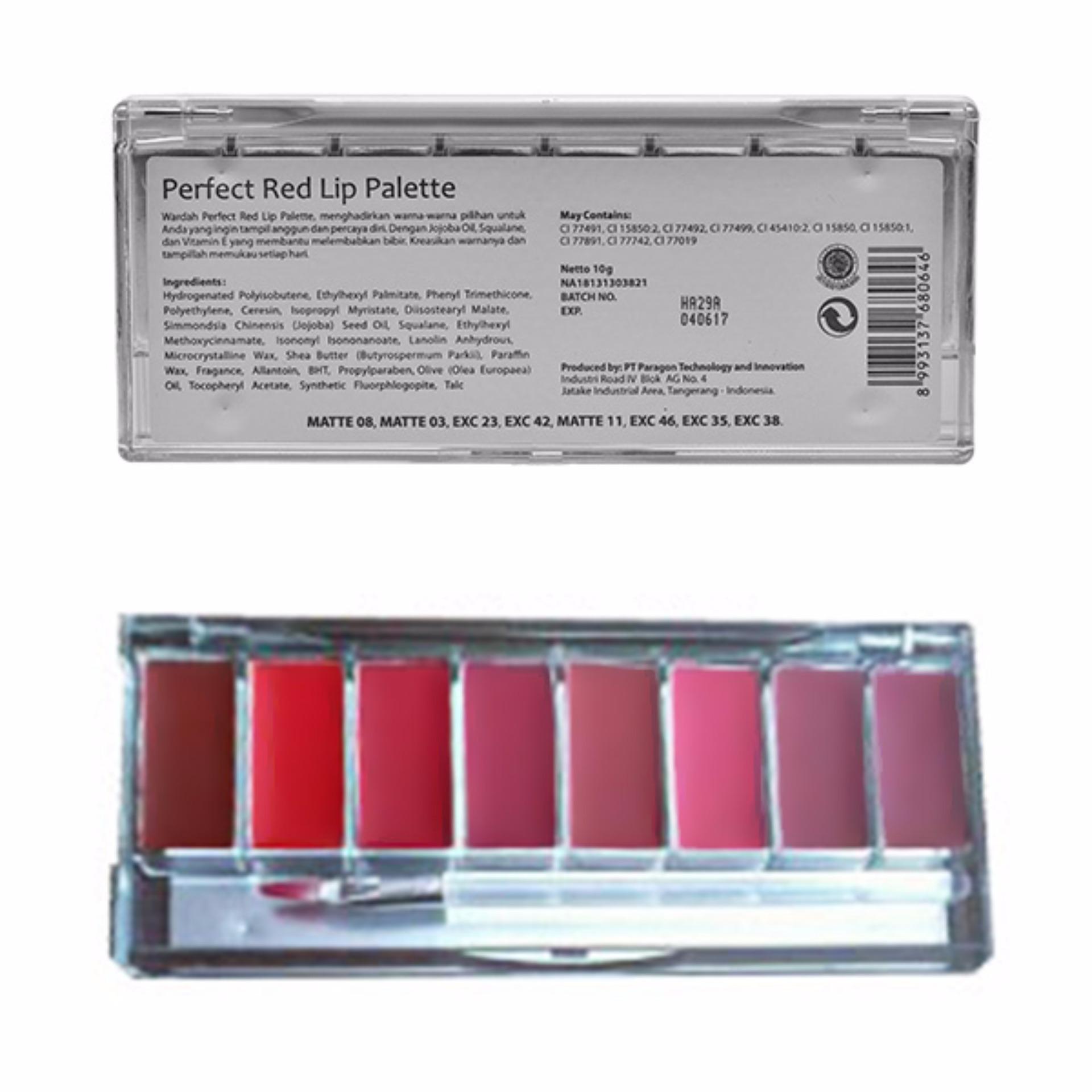 Hemat Tarte Tartellete Bloom Eyeshadow Pallete Penghilang Bekas Wardah Lip Palette Pinky Peach Perfect Red