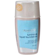 Spesifikasi Wardah Luminious Foundation Natural White 40 Ml Del Merk Wardah