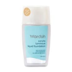 Wardah Luminous Liquid Foundation Natural White