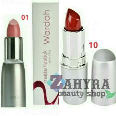 Beli Wardah Matte Lipstick 01 Soft Pink Dan 10 Maroon Lovers Online Murah