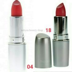 Wardah Matte Lipstick 04 Orange dan 18 Rosy Pink
