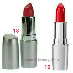 Wardah Matte Lipstick 12 Maroon dan 18 Rosy Pink