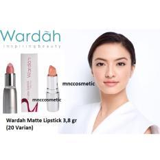 Wardah Matte Lipstick 20 Nudish Peach