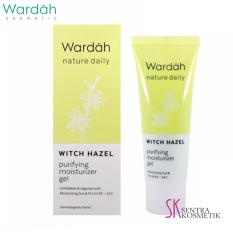 Wardah Nature Daily Witch Hazel Purifying Moisturizer Gel - 40 ml