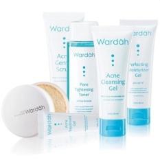 Spek Wardah Paket Acne Series 6 Pcs