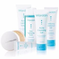 Wardah Paket Acne Series - 6 pcs