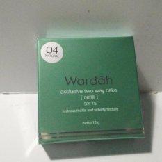 Harga Wardah Refill Bedak Twc Exclusive No 04 Satu Set