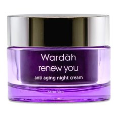 Spesifikasi Wardah Renew You Anti Aging Night Cream Murah Berkualitas