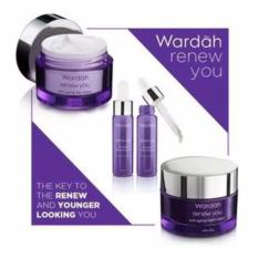 Harga Wardah Renew You Anti Aging Series Paket Serum New