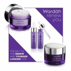 Wardah Renew You Anti Aging Series Paket Serum - 3pcs