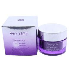 Promo Wardah Renew You Night Cream Anti Aging 30 Gr Murah