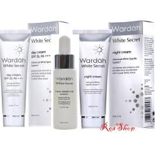 Wardah Series Paket White Secret Day, Night Cream dan Serum - 17ml