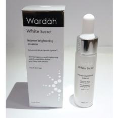 Review Toko Wardah White Secret Intense Bright Essence Serum 17Ml