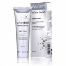 Jual Wardah White Secret Night Cream 17 Ml Antik