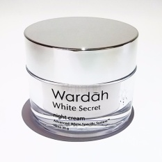 Diskon Wardah White Secret Night Cream 30 Gr Wardah Cosmetics Di South Sumatra