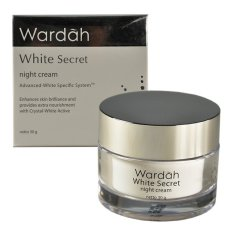 Harga Wardah White Secret Night Cream 30Gr Wardah Ori