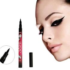 Waterproof Liquid Make Up Kecantikan Comestics Black Eyeliner Pensil Liner Mata Hot-Intl