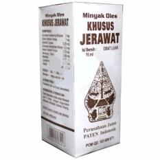 Wayang Obat Herbal Minyak Oles Khusus Jerawat Cap Wayang Obat Jerawat Kulit Lebih Halus Mulus - 35 ml