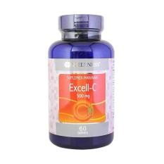 Wellness Excell-C 500 Mg 60's - Vitamin C, Daya Tahan Tubuh, Imunitas