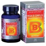 Toko Jual Wellness Mega B Complex Vitamin B Komplex 30
