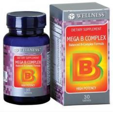 Beli Wellness Mega B Complex Vitamin B Komplex 30 Murah Di Jawa Timur