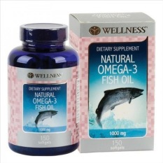 Diskon Produk Wellness Natural Omega 3 Fish Oil 1000 Mg 150 Softgels