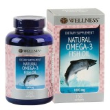 Jual Wellness Natural Omega 3 Fish Oil 150 Softgel Branded