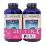 Beli Wellness Omega 3 Fish Oil 1000Mg 375 Softgel Buy 1 Get 1 Free Online Dki Jakarta