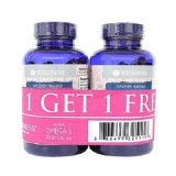 Promo Wellness Omega 3 Fish Oil 1000Mg 75 Softgel Buy 1 Get 1 Free Wellness Terbaru