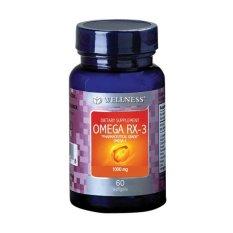 Wellness Omega Rx 3 60 S Multivitamin Otak Daya Ingat Konsentrasi Pikun Jawa Timur