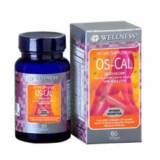 Review Pada Wellness Os Cal 60 S Calcium Kalsium Tulang Gigi Mencegah Osteoporosis Keropos Tulang Pengapuran Tulang
